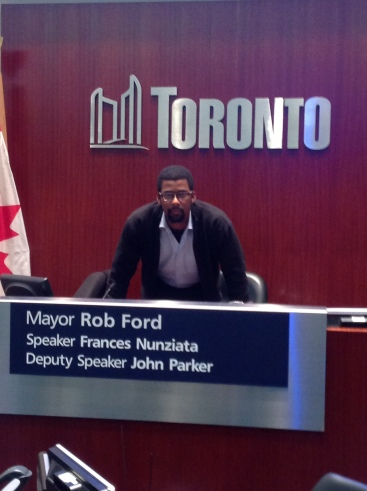 Evon running for Mayor of Toronto