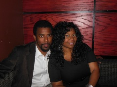 Evon & I at a CD Release Party