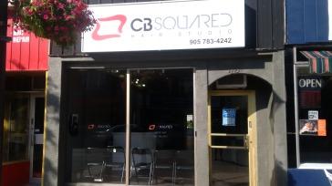 CB Squared Hair Studio Storefront