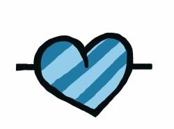 blue heart, the purrr, pepperbrooks